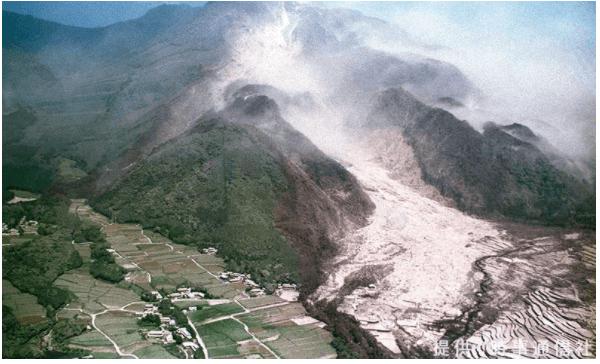火山 噴火 火砕流
